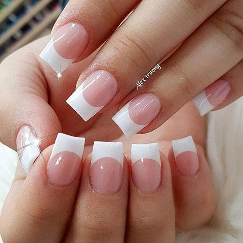 Nails French Acrylic
