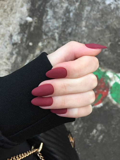 Red Wine Nails