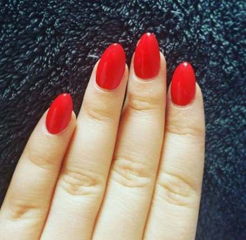 Perfect Red Nails