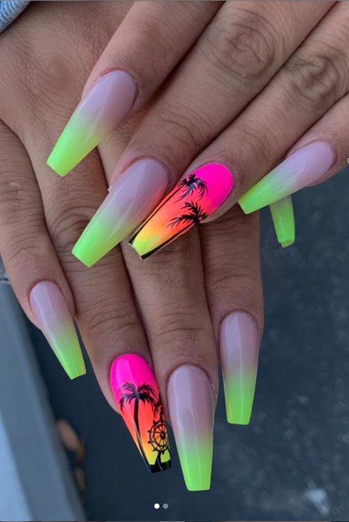 Long Nails Coffin