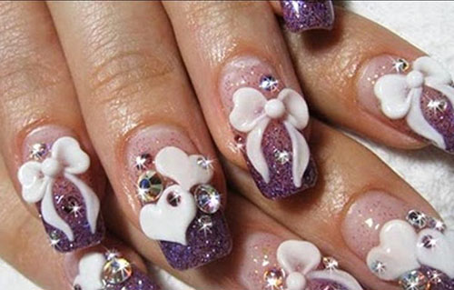 Hello Kitty 3D Nail Art