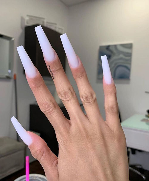 Extra Long Coffin Nails
